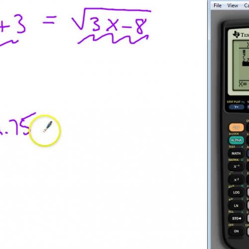Solving Radical Equation 4