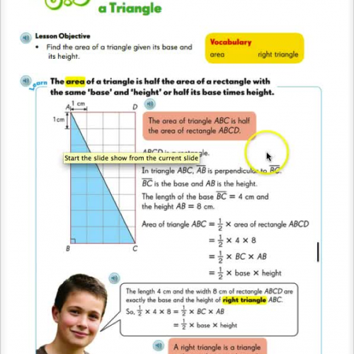 Area of Triangles - 6.3
