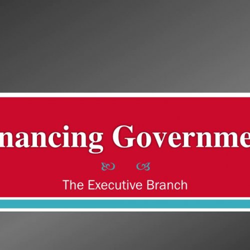 Financing Government