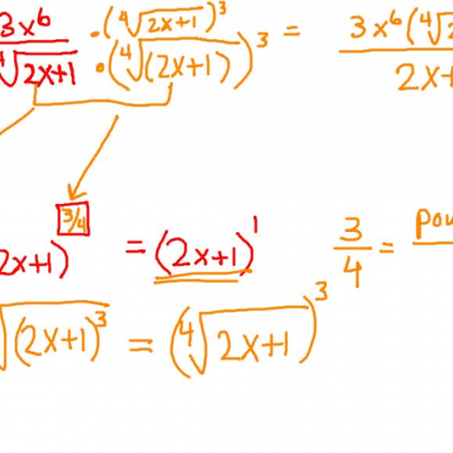 Rationalizing the Denominator (Radical that is not a Square Root)