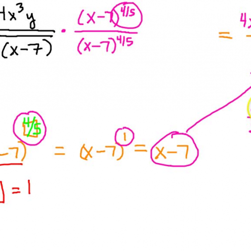 Rationalizing the Denominator (5th root)