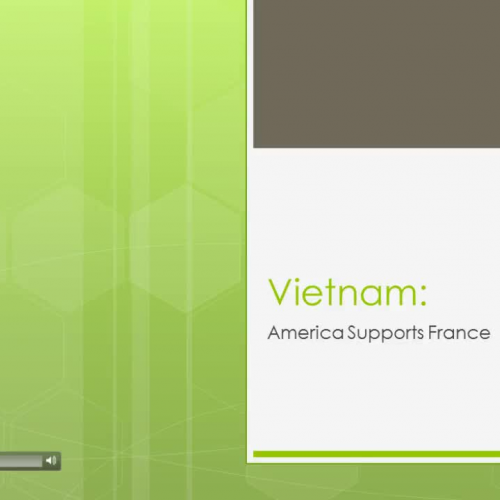 Vietnam: America Supports France