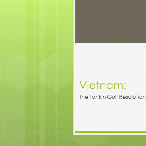 The Tonkin Gulf Resolution