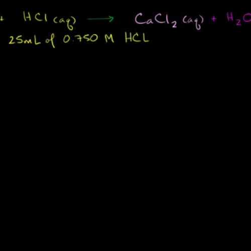 Kahn Academy - stoichiometry-of-a-reaction-in-solution