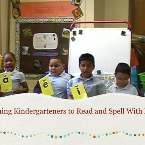 Tips for Teaching Kindergarteners to Spell