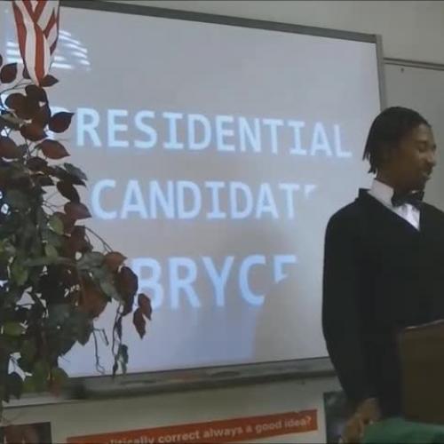 Period 6 Bryce Benjamin Presidential Speech