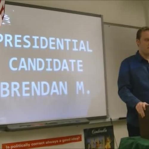 Brendan Mclaughlin Presidential Speech