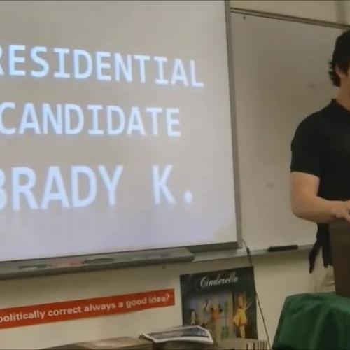Brady Kress Presidential Speech