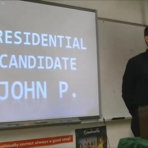 John Price Presidential Speech