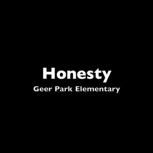 Honesty Geer Park Elementary