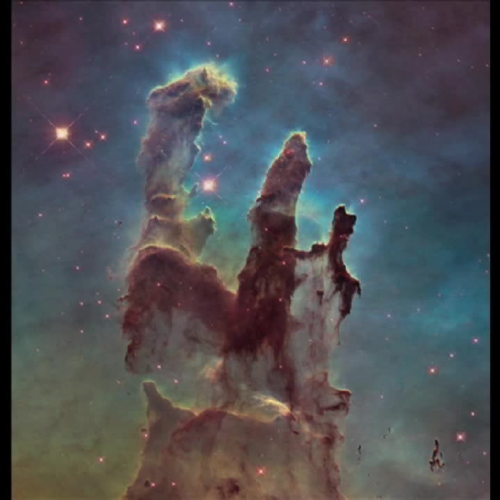 Hubble Revisits the Iconic 'Pillars of Creation': Dissolve of M16 from Visible to Infrared