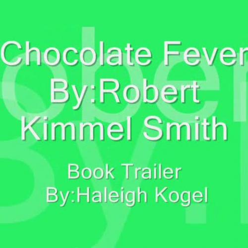 Chocolate Fever Book Trailer
