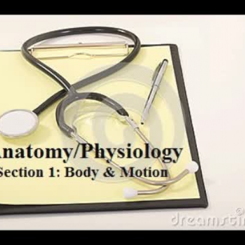 EMT Anatomy Physiology Lesson 1