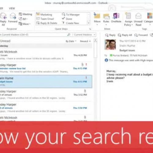 Narrow your search results