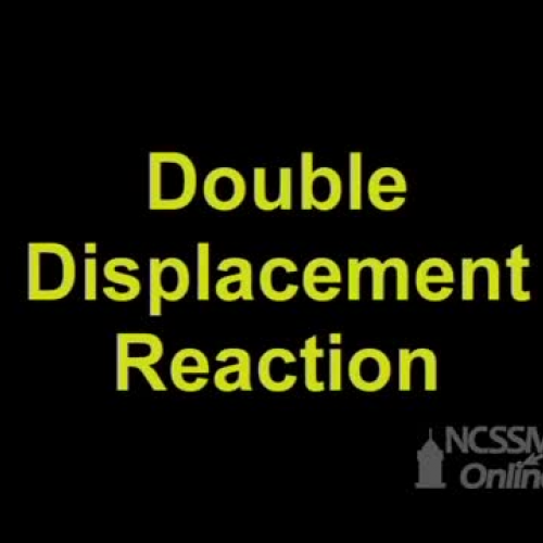 Double Displacement Calcium Carbonate and HCl