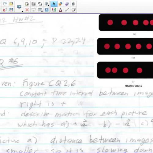 AP Physics 1 Ch2 HW#2