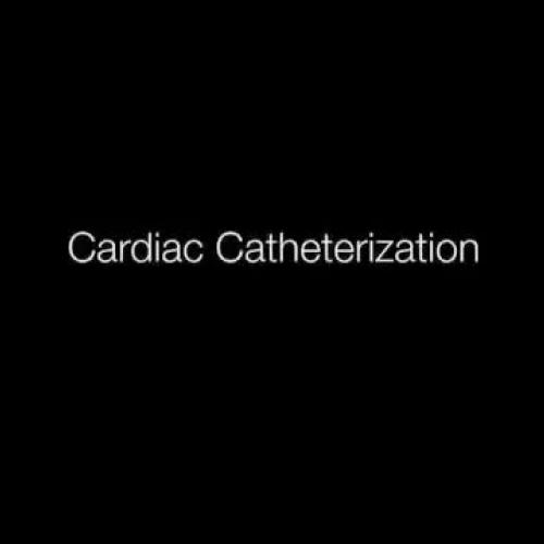 Heart Catheterization Animation