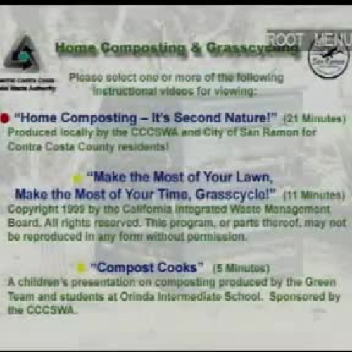 Home Composting - It's Second Nature! - Part I