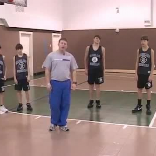 Basketball Drills for Youth Basketball :  Circuit Drills