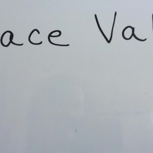 Finger Place Value