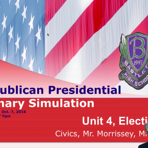 Day Five of the BHS Republican Primary Simulation