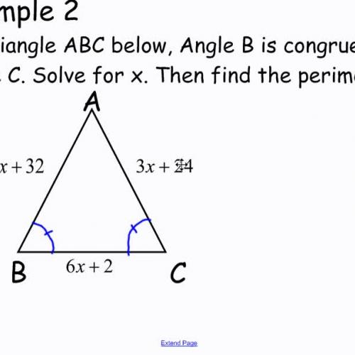 Isosceles triangles II