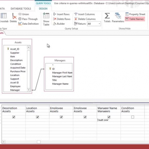 Use Update queries to change data in Access 2013