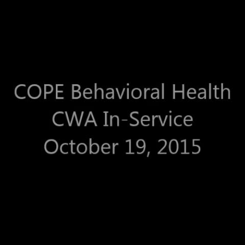 CWA - COPE and Lighthouse