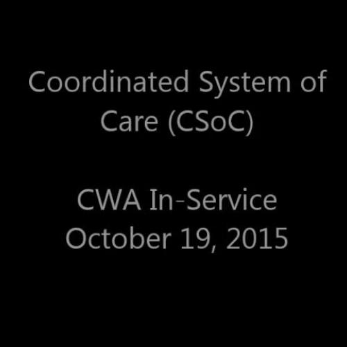 CSoC and New Beginnings