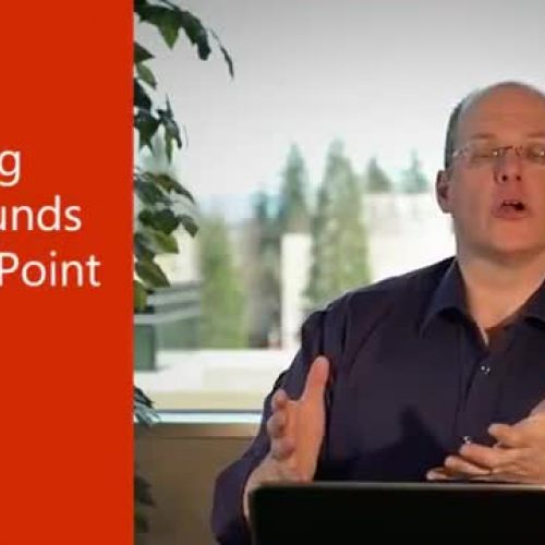 Removing backgrounds in PowerPoint