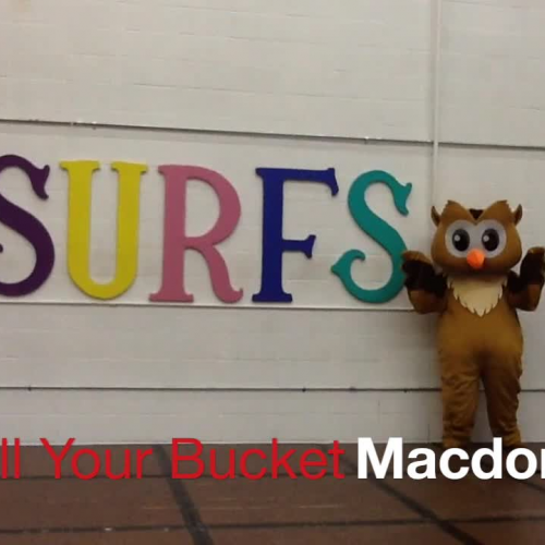 Fill Our Bucket - Macdonough!
