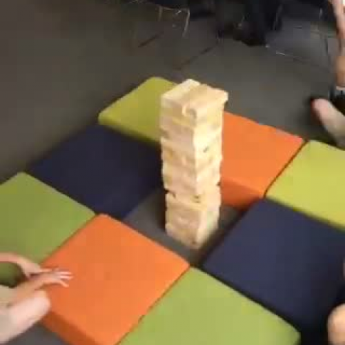 Giant Jenga - First Run
