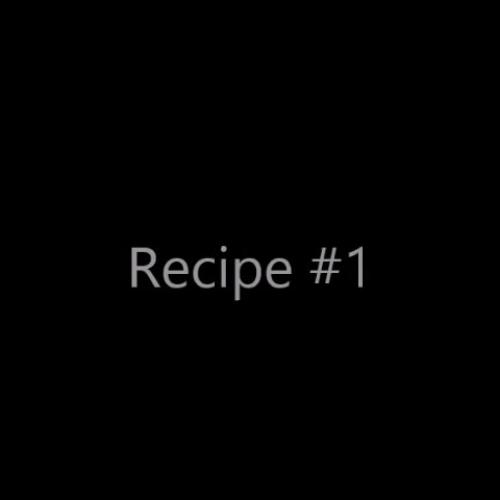 Receptive Recipe