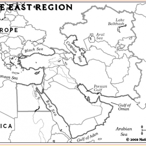 Middle East Map Walk Through