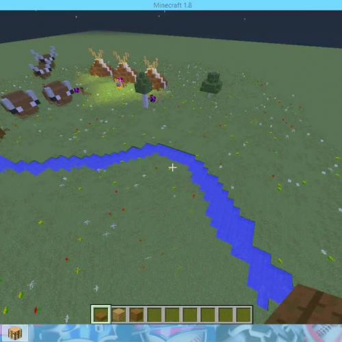 Minecraft Native Americans Project