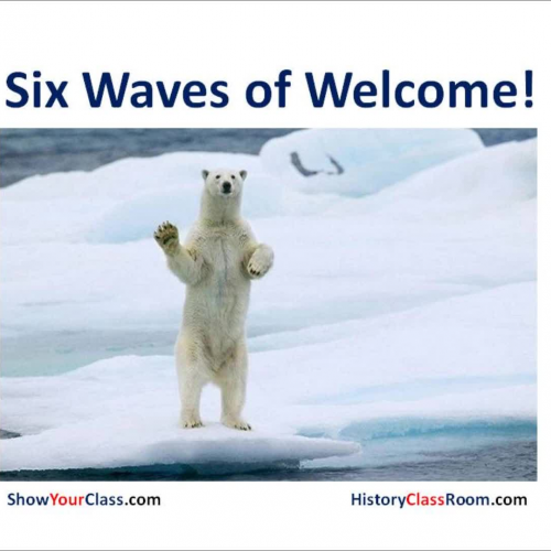 Six Waves of WONDER in the Classroom