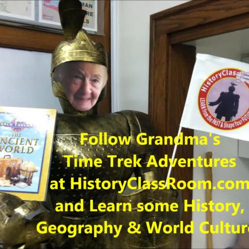 SUPER Grandma's NEW Time Trek Adventures Intro.