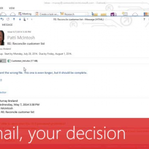 Your mail, your decision
