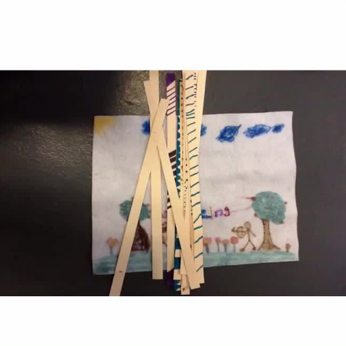 Lenape Game of Scattering Straws Video
