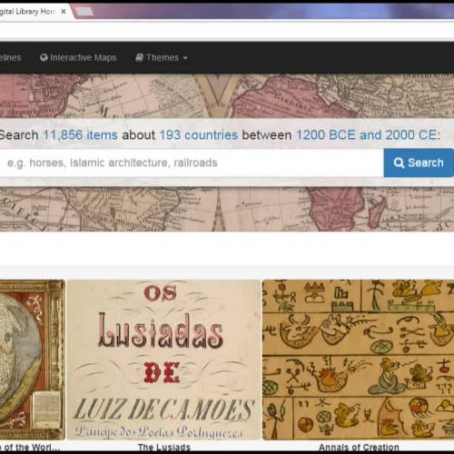 Primary  Sources on the World Digital Library