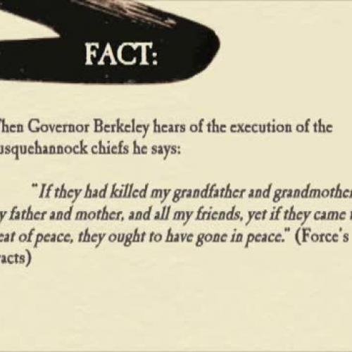 1646 Treaty with the Powhatan