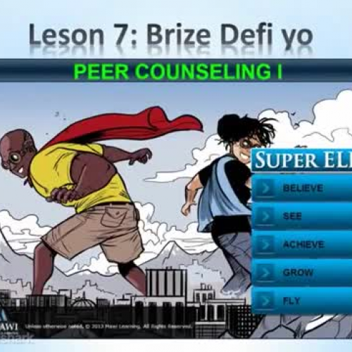 Lesson 7 Summary - Creole - Super ELL