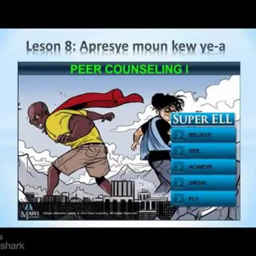 Lesson 8 Summary - Creole - Super ELL