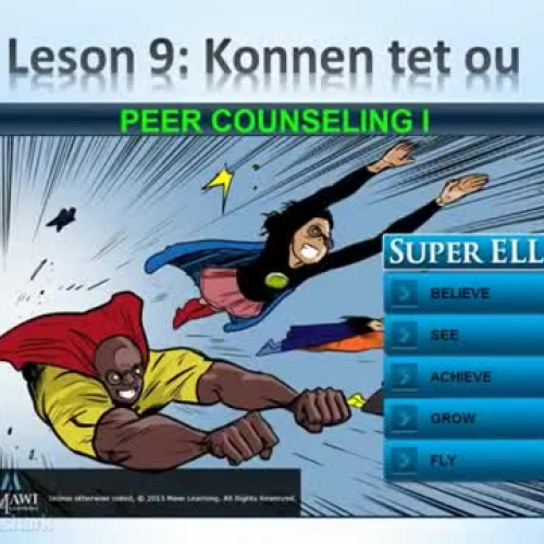 Lesson 9 Summary - Creole - Super ELL