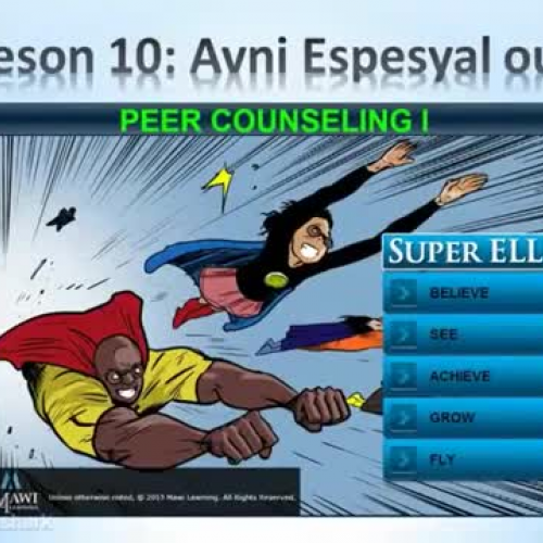 Lesson 10 Summary - Creole - Super ELL
