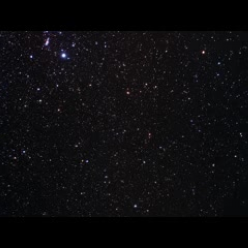 Flight Through the Hubble eXtreme Deep Field (2D Zoom and 3D Fly-Through Sequence)