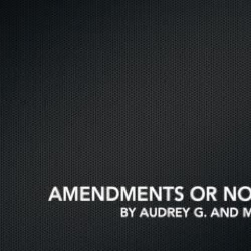 Constitution Elixer Video