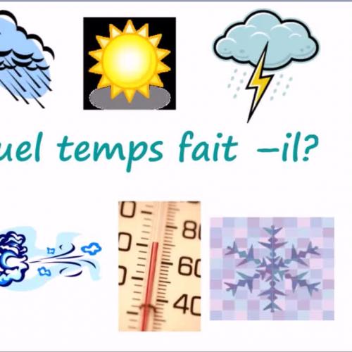 Les saisons et La météo