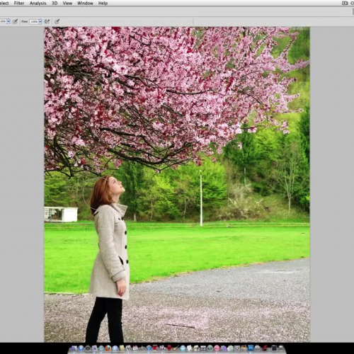PhotoShop - Blur the background with Smart Objects
