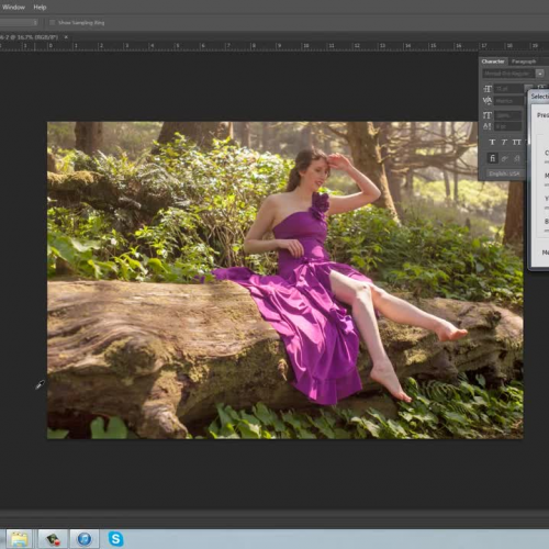 PhotoShop Tutorial: Remove harsh lighting and shadows from photos.